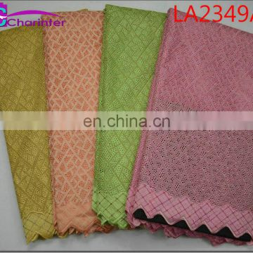 sale well Charinter african wedding lace fabrics LA2349