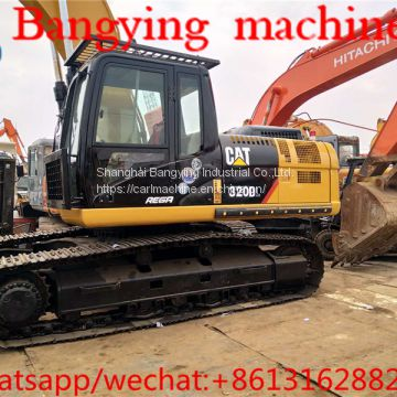 used CAT 320DL cralwer excavator   320d/320d2