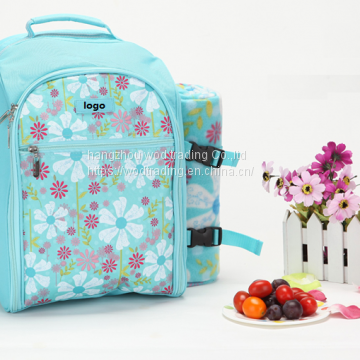waterproof polyester backpack diaper bag from China