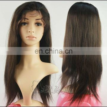 Cheap Price And Good Quality Long Straight Full Lace Wigs,100% Human Hair Wigs