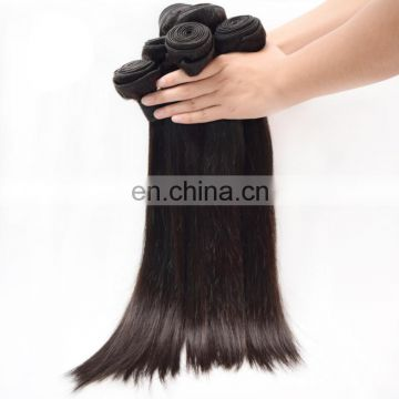 Hot Selling 100% unprocessed natural black hair xuchang hair factory