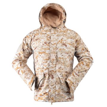 G8 Style Army Tactical Cp Camo Warmest Winter Hoodie Jacket