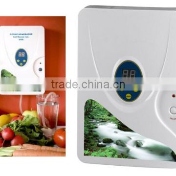 Ozone generator,sterilizing,Fruit disinfection,water ozone,air purifier home 220V ozone output 400mg/h wholesale