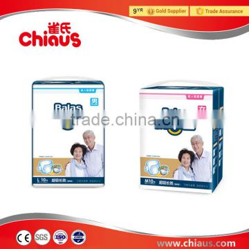B grade adult diapers with good quality