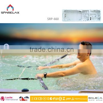 Summer hot sale popular outdoor large acrylic swim pool