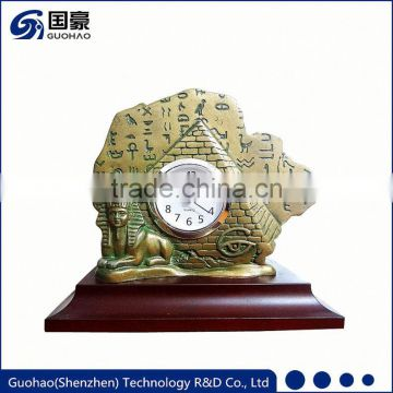 Professional hot sale Factory Price antique wooden pendulum table clock