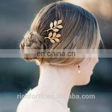 leaf hair clip for girl to hold the bang steadily
