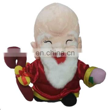 2017 Chinese New Year Plush toy God of longevity animation plush toy