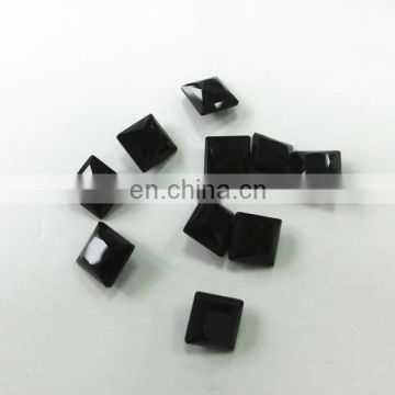 Dongzhou Jet Square shape Fancy Stone Crystal Wholesale beads