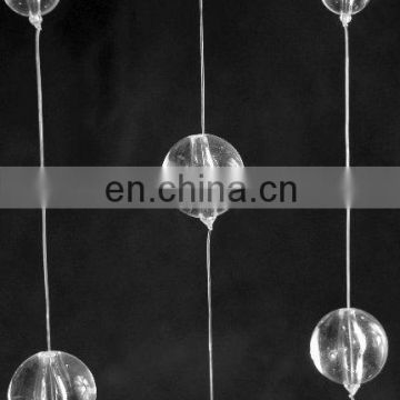 Clear Acrylic Floating Bubble Curtain