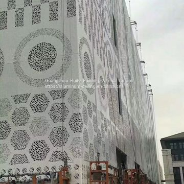 Pattern Perforated Aluminum Ceiling/Perforated Mesh Sheet Used for decorative Ceiling/Punching Aluminum Sheet