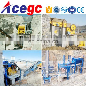 Rock mine stone gravel,sand crushing,screening,gold separating plant solutions