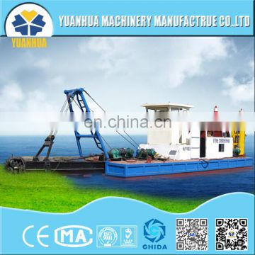 mini cutter suction draga dredging ship for sale