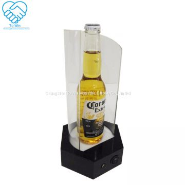 Retail Advertising Recyclable Cardboard Corrugated Paper Wine Display Rack
