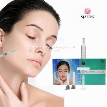 wholesale 1ml cosmetics pure hyaluronic acid face injection dermal filler