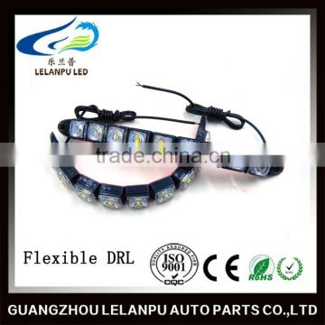 waterproof 12v auto daytime running light/DRL flexible car led light bar                                                                         Quality Choice