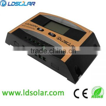 LDSOLAR 12v 24v 48v solar charge controller with LCD screen