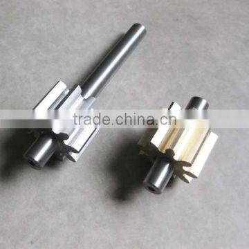 CNC lathe Precision turning gear shaft component for hydraulic pump