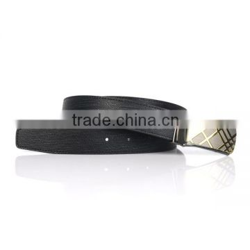 Custom high quality cow leather buckle belts for business men                                                                         Quality Choice