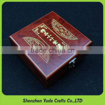 Best faver gift box with sculptured patterns glossy beautiful mdf box