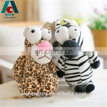 eco-friendly material comfortable kids plush stuffed toy cute round plush eyes lion toys
