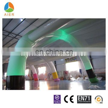 2016 Guangzhou inflatable tent with led light/inflatable led tent/ inflatable arch for party