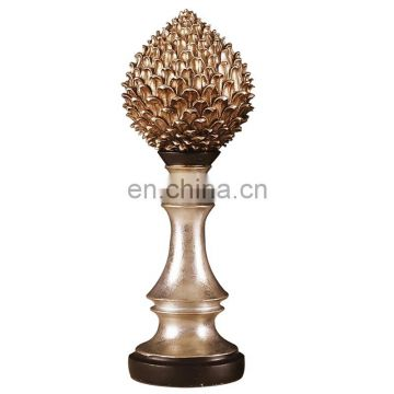 resin pine nut plant figure decoration