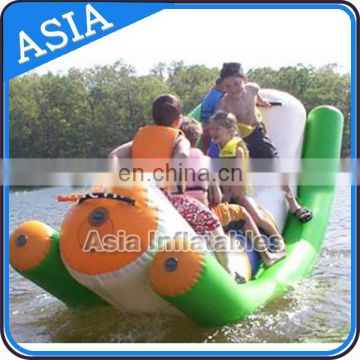 Factory Price inflatable water seesaw for seashore use