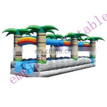 Best seller coconut palm water slide with cheap price WS034