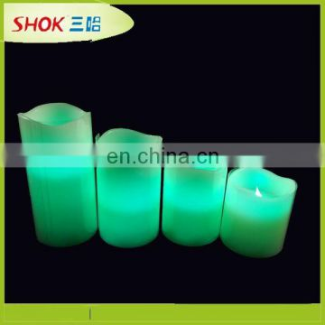 Innovative remote control led candle wax