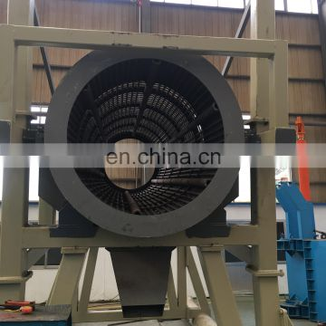 Small rock mobile gold processing plant mace in China