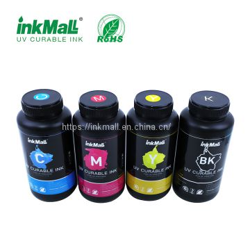 InkMall Led uv curable ink for konica 512/512i head RoHs Certificate