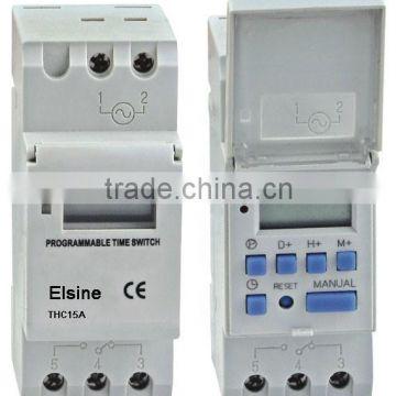 digital timer switch for street lighting control (ahc15a,thc15adigital timer switch for street lighting control (ahc15a,thc15a, dhc15a, cn15a)