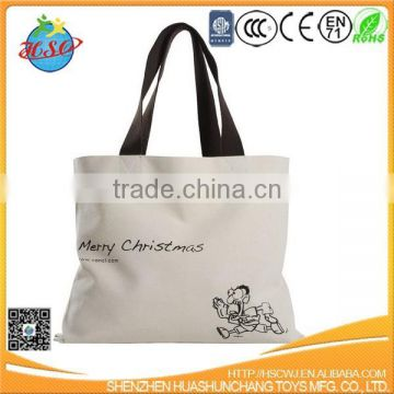 hot sales shopping bag plain canva tote bag