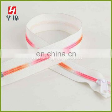 Specialty circular zipper