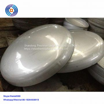 stainless steel ellipsoidal tank head with diameter 1400mm