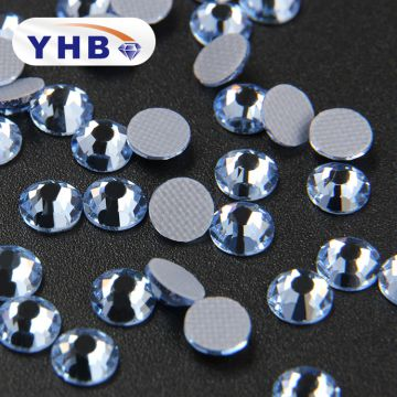 2018 YHB Factory sale customize Teardrop Glass Crystal Rhinestone
