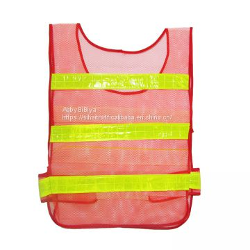 Cheap Price Fluorescent High Visibility Reflective Vest