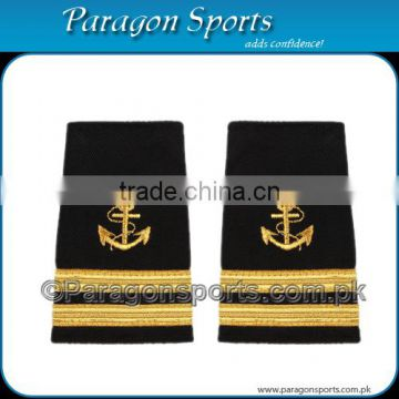Pilot Epaulettes Captain Epaulettes Two Gold Bar With Anchor