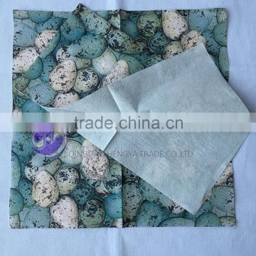 custom design printed paper napkin