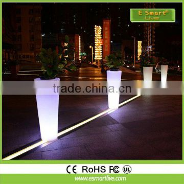 CE&ROHS&ENEC approval & 5-5-10 years warranty/50000 hours /IP66/ sp-2106 UL outdoor solar led plant pot light LED tunnel light