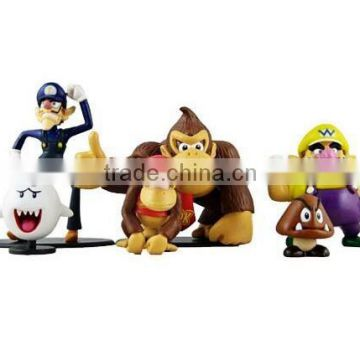 3D cartoon mini pvc toys mini figure,mini pvc cartoon figure toys,plastic cartoon pvc min figure