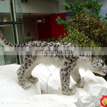 2016 shopping mall simulation animal animated snow leopard