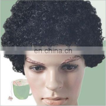 Cheap black cosplay cclown wig