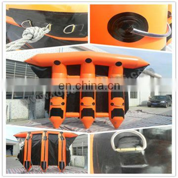 PVC inflatable flying fish sea toys inflatable water park banana boat