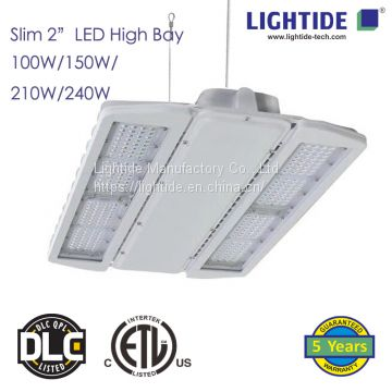 Lightide Slim 2″ LED High Bay Lights, 210W, ETL_CETL_DLC LISTED