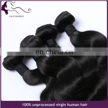 Malaysian hair extension weft 100% virgin remy human hair bundles