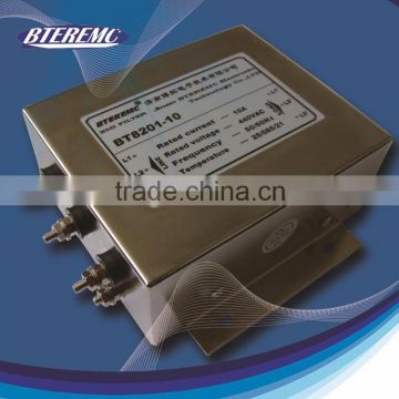 Electromagnetic wave absorber line emi low pass filter with professional design
