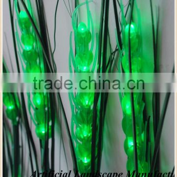 high quality artificial wheat led light,green and yellow color led wheat led ear