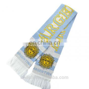 Argentina Soccer Knit Scarf